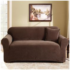 Sure Fit Couch Covers. This wonderful photo selections about Sure Fit Couch Covers is accessible to save. We collect this best photo from online and select the Loveseat Covers, Couch And Loveseat, Loveseat Slipcovers, Furniture Slipcovers, Couch Furniture, Furniture Design, Couches, Adams Furniture, Living Room Remodel