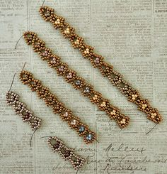Linda's Crafty Inspirations: Bracelet of the Day: Art Deco Chain
