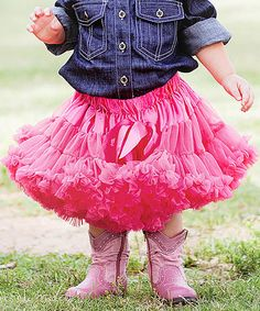 Another great find on #zulily! Pink Candy Pettiskirt - Infant, Toddler & Girls #zulilyfinds