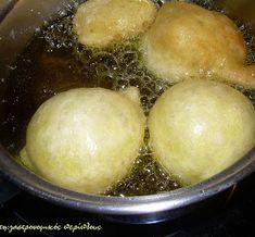 Λουκουμάδες - cretangastronomy.gr Deserts, Dairy, Pudding, Cheese, Food, Custard Pudding, Essen, Postres, Puddings