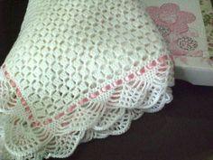 souvenir tejidos a crochet para baby shower Crochet Afghans, Crochet Blanket Edging, Baby Afghans, Free Crochet, Knit Crochet, Knitting Patterns, Crochet Patterns, Baby Girl Crochet, Crochet Videos