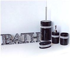 diamond bathroom accessories. Black And Diamond Bathroom Accessories F