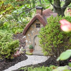 Two Story Fairy Garden Cottage Where To Miniature And Houses Part I Lush Little Landscapes Pinterest