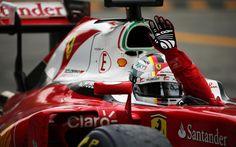 2016 Italian GP - Sebastian Vettel (Ferrari) [1920x1200]
