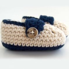 Cotton crochet baby booties, my own original pattern (inspired by a few others I've seen), took months and loads of patience to perfect!