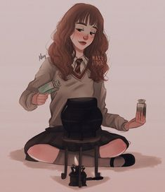 Hermione Granger by maxy artwork