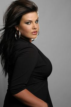 Real beauty.....and they call this plus size.  Well I wanna be her equivalent of plus size then!