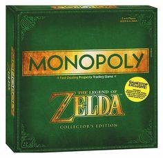 Monopoly Zelda   Juegos de Mesa y de Tablero