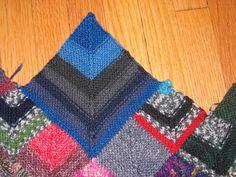 Ravelry: Sock Yarn Blanket by Shelly Kang