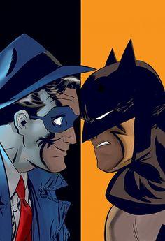 Batman/The Spirit #1 cover by Darwyn Cooke
