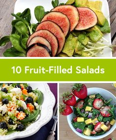 10 Creative Fruit-Filled Salad Recipes
