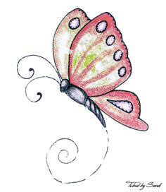 Butterflies: Vintage/Whimsical   Free Digital Images
