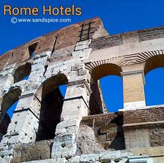 A destination in itself, Rome is also a launching pad for flights to the tropics - provided you find affordable Rome Hotels & Guesthouses. Rome Hotels, Tower Bridge, Brooklyn Bridge, Lodges, Wellness, Italy, World, Pictures, Photography