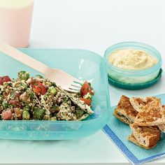 TABBOULEH WITH CHICKEN & RED PEPPER