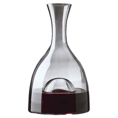 See the difference this decanter makes. This European-made visual wine decanter is our most requested because of its crystal elegance, functionality, and affordability. The large punt increases oxygenation and allows you to better evaluate the hue an Crystal Decanter, Wine Decanter, Wine Bottles, Glass Bottles, Wine Dispenser, Pinot Noir Wine, Wine Magazine, Wine Deals, Expensive Wine