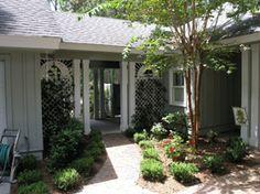 homes with breezeway to garage  | Breezeway « Recent Past Revealed