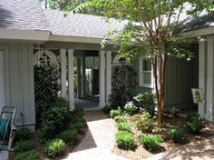 homes with breezeway to garage | Breezeway « Recent Past Revealed