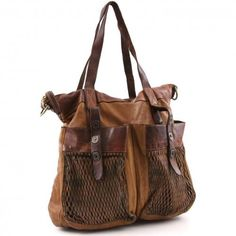 Campomaggi Vitello Shopper Leder cognac