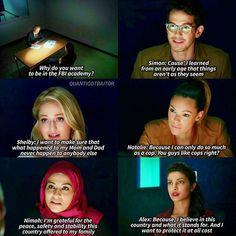 Season 1 Episode 2: Simon, Shelby, Natalie, Nimah, Alex