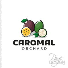 Logo design for Carolyn and Malcolm who have a passionfruit and feijoa orchard.