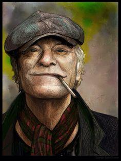 Billedresultat for kim larsen David Gilmour, People Of The World, Pink Floyd, Rock Music, Home Art, Drawings, Copenhagen, Painting, Legends