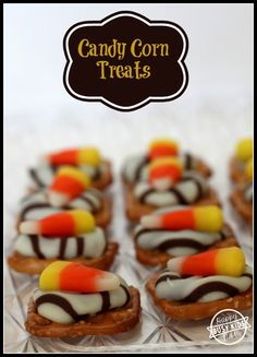 Candy Corn Treats for Halloween {a fun treat to make with your kids} from www.busykidshappymom.org