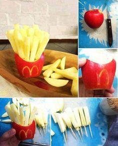 frite plein de vitamine