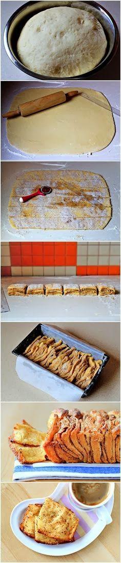 Simple Cinnamon Sugar Pull-Apart Bread Recipe