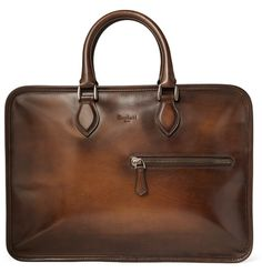 Berluti Un Jour Venezia Leather Briefcase | MR PORTER