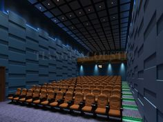 KTV Interior Design Fabric Acoustic Wall Panel Material, soundproof panel