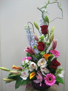 Canada, Quality arrangements using a plethora of the freshest flowers
