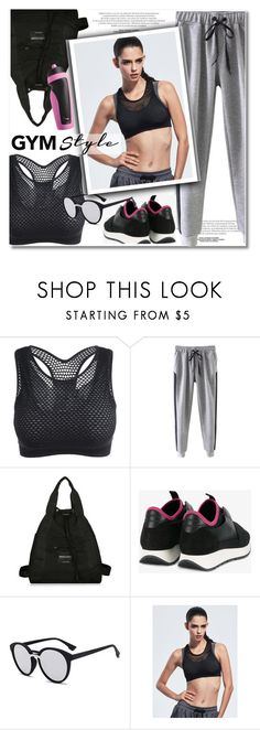 """""""Work It Out: Gym Essentials"""" by paculi ❤ liked on Polyvore featuring Balenciaga, NIKE and gymessentials"""