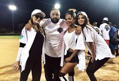 DJ Khaled gets his team prepped with Christina Milian and KendallJenner