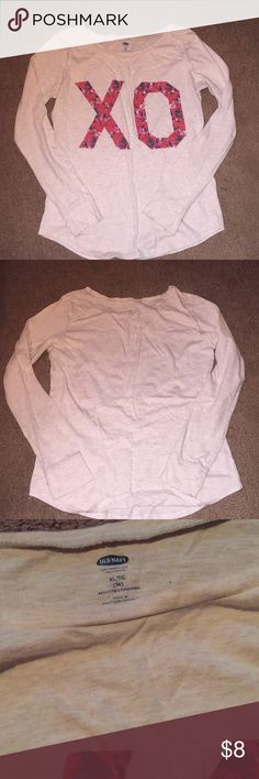 Old Navy Girls XL Long Sleeve Shirt Gently used Old Navy Shirts & Tops Tees - Long Sleeve
