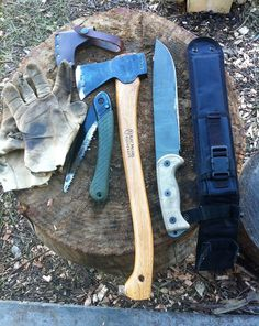 Ontario Knife Co RTAK 2 and Bahco Laplander saw
