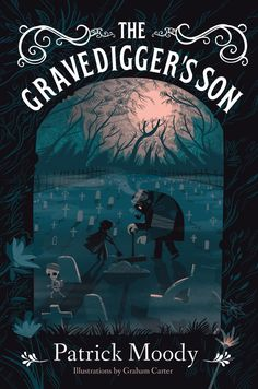 Graham Carter has teamed up with writer Patrick Moody on his new book 'The Grave Diggers Son', creating a stunning Illustrated cover for what. Book Cover Art, Book Cover Design, Book Design, Layout Design, Good Books, My Books, Noli Me Tangere, Gothic Books, Beautiful Book Covers