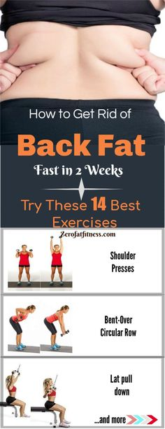 How to Get Rid of Back Fat Fast in 2 Weeks-Try These 14 Exercises How to Get Rid. How to Get Rid of Back Fat Fast in 2 Weeks-Try These 14 . Lose Weight Fast Diet, Weight Loss Detox, How To Lose Weight Fast, Losing Weight, Loose Arm Fat Fast, Loose Weight, Healthy Weight, Burn Fat Fast, Reduce Weight