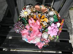 Florida bound from Amanda Jane by broochbouquets on Etsy, $375.00