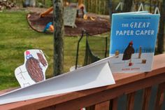 THE GREAT PAPER CAPER by Oliver Jeffers - Paper Airplane Competition!