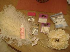 DIY Wedding Fascinator