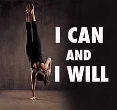 I can and I will!  From,  www.gymmotivationtees.com