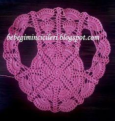 Diy Crafts - Crochet Shrug Circular Bolero Pattern Ideas For 2019 Bolero Pattern, Crochet Vest Pattern, Crochet Baby Cardigan, Black Crochet Dress, Crochet Jacket, Crochet Stitches Patterns, Crochet Cardigan, Crochet Shawl, Knit Crochet