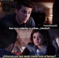 Pretty little liars Pretty Little Liars Characters, Pretty Little Liars Series, Netflix Series, Tv Series, Let Me Down, Let It Be, Cody Christian, Frases Tumblr, Movie Quotes