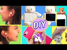 4133103f374 10 DIY INCREDIBLE Cell Phone Crafts. 10 MANUALIDADES PARA TU CELULAR ...