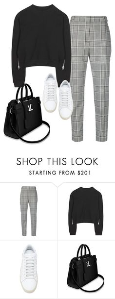 """Untitled #199"" by simonakolevaa ❤ liked on Polyvore featuring Alexander Wang, Acne Studios and Yves Saint Laurent"