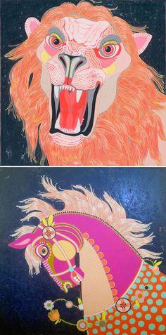 "jennifer davis - large scale paintings from ""joyride"""