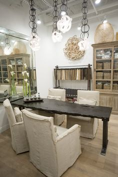 Valarie Britz Interior Design studio in the back of Cloth + Label
