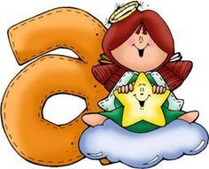 Alfabeto divertido de angelitos.