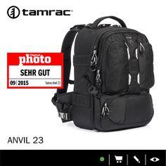 """""""SEHR GUT"""" im Kurztest der DigitalPHOTO 08/15 für das Raumwunder  von #tamrac """"ANVIL 23""""! #hapateam"""