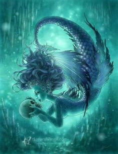 30 Mind Blowing Examples of Mermaid Art | Showcase of Art & Design